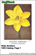 Golden sceptre